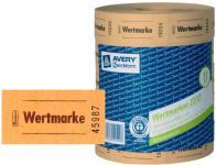 Avery Zweckform 5x Bon-Rolle gelb 5000x Wertmarke Getränke-Marke Bon Marken Bons