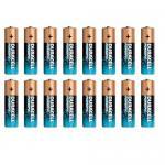 Duracell 16x AA-Batterien Power-PIX 1.5V Alkaline Batterie LR6 MN-1500 Mignon