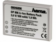 Hama Li-Ion Kamera Akku für Konica Minolta NP-900 Olympus Li-80B Pentax D-Li108