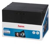 Hama 30x PACK DVD-Hüllen 1er 1-Fach Leer-Hülle Box Boxen für CD DVD Blu-Ray Disc