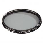 Hama Polarisations-Filter 62mm Pol-Filter Wide circular C14 vergütet DSLR Kamera