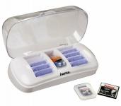 Hama Digital Memory Organizer Box Case Aufbewahrung Speicherkarten USB-Stick PC