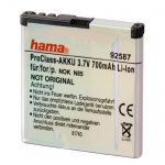 Hama Li-Ion Akku Batterie für Nokia BL-5K N85 701 Oro C7-00 N86 8MP X7-00 etc.