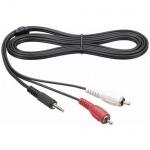 Thomson 5m Cinch-Kabel 3, 5mm Klinke Cinch-Stecker Klinken-Stecker Klinken-Kabel
