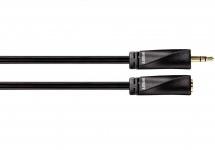 Avinity 3, 5mm Klinken-Verlängerung Stereo Klinken-Kabel Buchse Stecker Kupplung