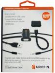Griffin Kabel-Set Kfz Lade-Kabel Micro-USB Adapter Ladegerät Lader 3, 5mm Klinke
