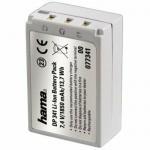 Hama Li-Ion Akku Batterie Ersatzakku für Casio NP-100 NP100 Exilim PRO EX-F1 etc