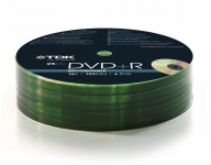 TDK PACK 100x DVD-Rohlinge 4.7 GB 120 Min.16x Full Speed DVD+R Rohling Leer-DVD