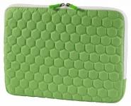 """Hama Netbook-Tasche Cover Hexagon Grün für 11, 6"""" 11"""" Notebook-Hülle Case Sleeve"""