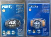 Perel Profi Stirnlampe 3x LED 1x Krypton Kopflampe sehr hell 3 Modi Headlight