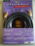 Oehlbach 5m Video VHS Kabel Digital Koax RCA TV DVD LCD 24k goldplated