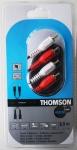 Thomson Hi-Fidelity 2, 5m Cinch-Kabel Cinch-Stecker 2x RCA Kabel Cinchkabel Audio