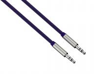 Hama HQ ALU AUX Kabel 3, 5mm Klinke-Kabel Klinken-Stecker Audio Handy MP3 Tablet