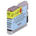 Hama PrintMe Analoge Druckerpatrone für B10 Brother DCP-130C Tinte Magenta Rot