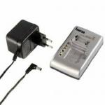 Hama Lade-Station Ladegerät Delta Compact für Sony c/f/l/m/p/r/s/t JVC BN Kamera