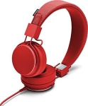 Urbanears Plattan II Headset Tomato On-Ear Kopfhörer Mikrofon + Fernbedienung