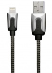 XtremeMac HQ Premium Lightning-Kabel Cable 1m Silber für iPhone X 8 7 6 iPad Air