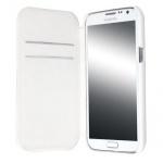 Krusell Flip-Cover Leder Tasche für Samsung Galaxy Note II 2 N7100 Hülle Case