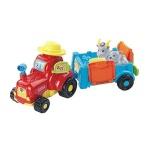 Vtech Tip Tap Baby Tiere - Traktor mit Anhänger Ziege + Zicklein 2x Figuren
