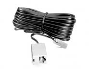 Vivanco 10m ISDN-Verlängerung 8P4C RJ45-Stecker RJ45-Kupplung ISDN-Kabel Modular