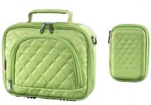 Bundle Hama Bahia HDD Tasche + Memory Card Case Etui Speicherkarten-Tasche Grün