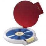 HAMA CD DVD DISPENSER Hartschalenetui & 50 Etiketten