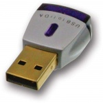 USB Fast IrDA Infrarot Adapter IR Stick für PC Notebook Drucker Reichweite 1m