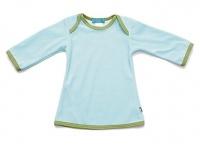 Tragwerk Kleid Matilda Nicki Eisblau Gr. 62 Baby Mädchen Babykleid Tunika Shirt
