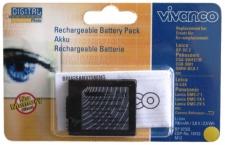 Vivanco Li-Ion Akku Batterie für Leica BP-DC2 BPDC2 D-LUX Panasonic CGA-S001-E