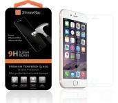 XtremeMac Panzer-Glas 9H Hart Schutz-Folie Schutz-Glas Klar für iPhone 6 6s Plus