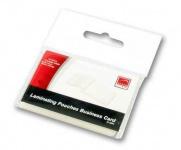 Speedlink 120x Visitenkarten Laminierfolien 90x60 Laminiertaschen Laminierhüllen
