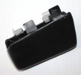 Waeco Telefonkonsole Kunstleder für Opel Astra klein Baujahr 03/04 Schwarz Black