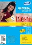 Avery Zweckform 120x Universal Etiketten weiß A4 105x48 Adress-Aufkleber Drucker