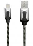 XtremeMac HQ Premium Lightning-Kabel Cable 1m Silber für iPhone X 8 7 6 iPad Air