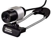 Hama USB HD Webcam Black Tube 720p Kamera Cam Universal Notebook Laptop PC Chat