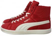 Puma Archive Lite MID High Sneaker Nylon rot EUR 38 - 47 Herren Schuhe Stiefel