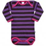 Tragwerk Body Adam langarm Ringelmädel 56 - 86 Baby Mädchen Pullover Pulli Shirt