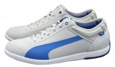 Puma Driving Power Light low Schuhe EUR 39 - 42 grau/blau Sneaker Turnschuhe Cat