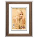 Hama Holz-Rahmen Provence Nuss 10x15 13x18 15x20 20x30 30x40 cm Bilderrahmen
