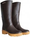 Aigle Chambord Pro L2 Damen Gummistiefel braun Rubber Boots Gummi Reit-Stiefel