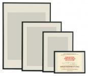 Alu-Rahmen Bilder-Rahmen schw. 20x30 30x40 40x50 50x70 60x80 Poster Plakat Foto