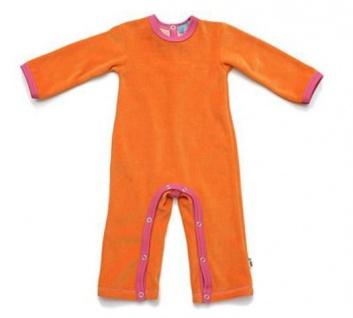 Tragwerk Strampelanzug Ladislaus Nicki Orange Baby Junge Mädchen Body Strapler