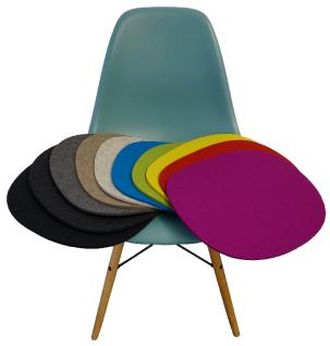 Hey Sign Sitz-kissen für Vitra DSW Eames Plastic Side Chair Sitz-auflage Stuhl