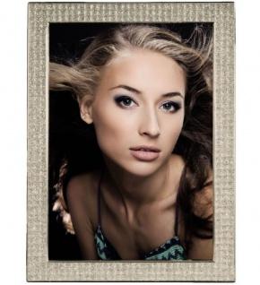 Hama Portraitrahmen Glitzer 10x15cm 13x18cm Portrait Bilder-Rahmen Foto Porträt