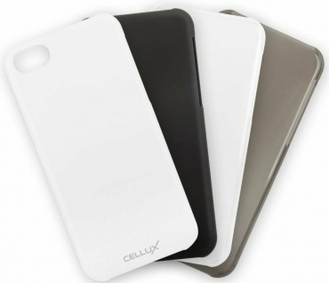 Cellux Soft Grip Back-Case Cover Schutz-Hülle Tasche Etui für Apple iPhone 5C