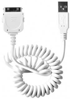 Cellux USB Sync- und Lade-Kabel für Apple iPhone 4 iPad 2 3 iPod 60cm weiß