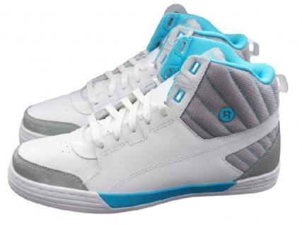 Reebok SH Majestic Mid Men weiß High Sneaker Gr EUR 40 - 46 Leder Schuhe Stiefel