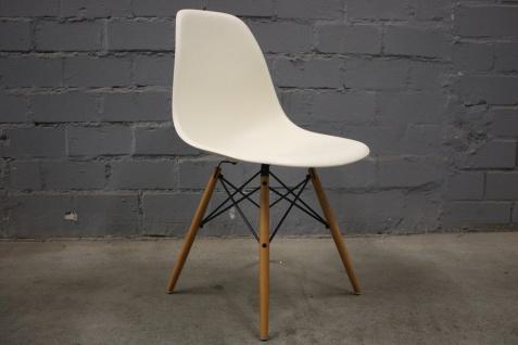 Vitra Panton Chair Weiãÿ stuhl schale affordable rb stuhl mit armlehne stoff dunkelblau schale wei lackiert fe chrom