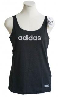 Adidas Glam Tank Top Damen schwarz Gr. XXS - L Sportshirt T-Shirt Trägershirt