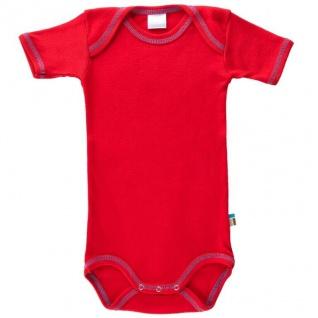 Tragwerk Body Eva kurzarm Kirsche 56-74 Baby Junge Mädchen Pullover Pulli Shirt